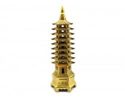 Brass Nine Level Feng Shui Pagoda (L)