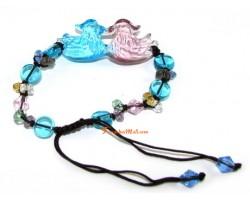 Liuli Pair of Mandarin Ducks Bracelet