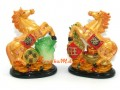 Pair of Horses with Pineapple and Pak Choy