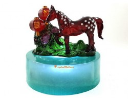 Peach Blossom Horse for Marriage Luck