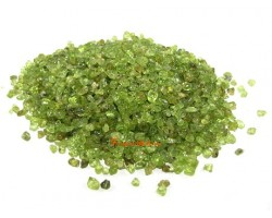 Peridot Crystal Chips (100g)