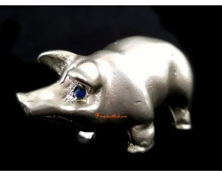 Pewter Horoscope Animal - Boar