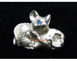 Pewter Horoscope Animal - Rat