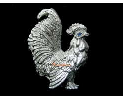 Pewter Horoscope Animal - Rooster