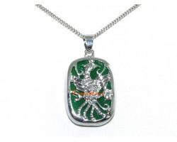 Phoenix Jade Pendant Necklace