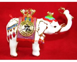 Power Elephant with Amulet Wheel