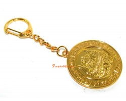 Prosperity Medallion Keychain/Pendant for Big Money Luck