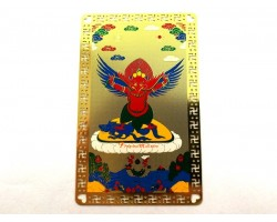 Red Garuda Metal Card