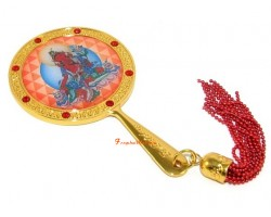 Red Tara Mirror for Authority and Control