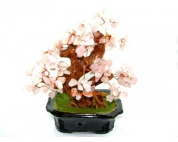 Rose Quartz Crystal Tree to Attract Love
