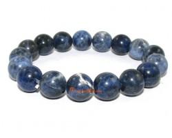 Sodalite Crystal Bracelet (Round)