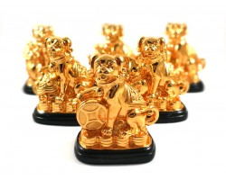 Six Auspicious Good Fortune Dogs