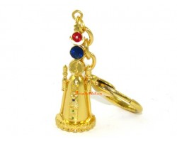 Sun and Moon 5 Element Pagoda Keychain