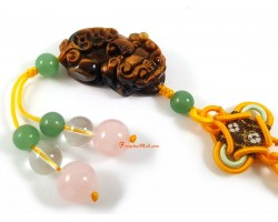 Feng Shui Piyao Protection Amulet - Tiger Eye
