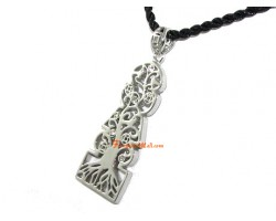 Five Element Pagoda with Tree of Life Pendant
