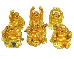 Ultimate Good Fortune Laughing Buddha Set