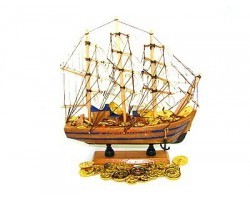 8 inch Feng Shui Wealth Ship to Attract Wealth
