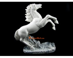 White Victory Feng Shui Horse