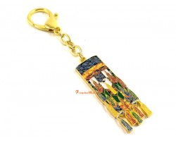 Winning Luck Victory Banner Amulet Keychain
