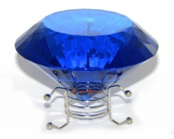 Wishfulfilling Jewel (Blue) for Career Opportunities and Good Health 100mm