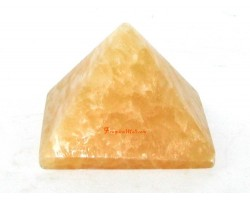 Crystal Pyramid - Yellow Jasper (S)
