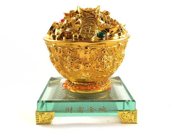 extreme good fortune golden feng shui wealth bowl buy feng shui. Black Bedroom Furniture Sets. Home Design Ideas