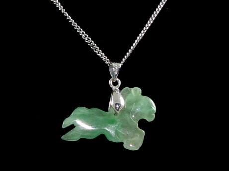 Jade 12 chinese horoscope animal pendant zodiac charms jade chinese horoscope animal pendant horse aloadofball Choice Image