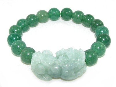 jade lucky charm bracelet
