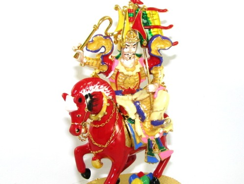 Bejeweled Kubera Riding Horse for Success in all your Aspirations