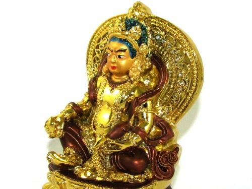 Tibetan Wealth God Yellow Jhambala for Speculative and Windfall Luck