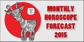 Monthly Horoscope Forecast 2015