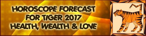 2017 Feng Shui Forecast for Tiger