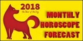Monthly Horoscope Forecast 2018