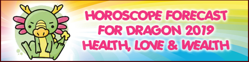 Horoscope Feng Shui 2019 for Dragon