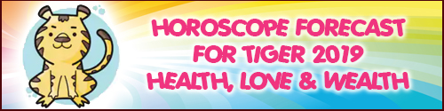 2019 Feng Shui Horoscope for Tiger