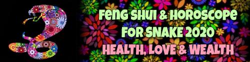Feng Shui Horoscope 2020 for Snake