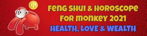 2021 Horoscope & Feng Shui for Monkey