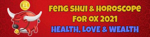Feng Shui Horoscope 2021 for Ox