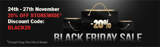 Feng Shui Mall Promotion - Black Friday Sale