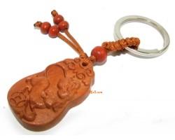12 Chinese Horoscope Wood Keychain