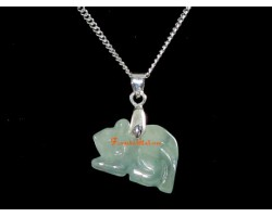 Jade 12 Chinese Horoscope Animal Pendant