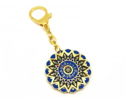 15 Hums Protection Wheel Amulet Keychain