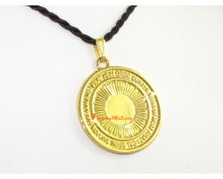 3 Legged Bird for Success (Radiant Sun) Pendant