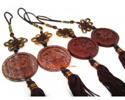 Four Celestial Animals Tassel