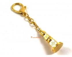 5 Element Pagoda Keychain