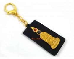 5 Element Sun & Moon Pagoda Talisman Keychain