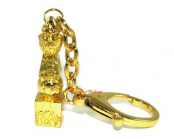 Five Element Pagoda with Tree of Life Keychain