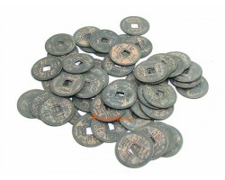 50 Antiquated Chinese I-Ching Coins