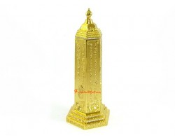 6 inch Golden Mantra Pagoda