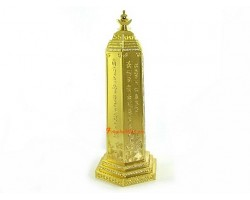 8 inch Golden Mantra Pagoda